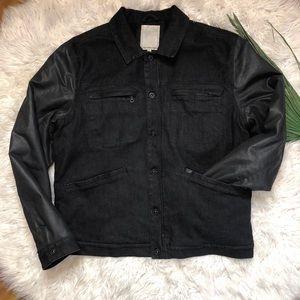 Calvin Klein Jeans Fleece Lined Denim Jacket 2XL